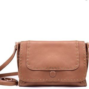 Linea Pelle tan leather handbag
